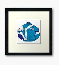 Hornets Windbreaker Jacket Framed Print