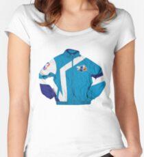 Hornets Windbreaker Jacket Women's Fitted Scoop T-Shirt