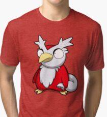 Merry Deli Christmas Tri-blend T-Shirt