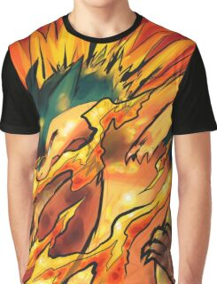 Typhlosion Pokémon Graphic T-Shirt