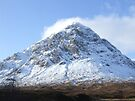 Etive Mor in the snow by David Rankin