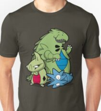 Terrific Tyrannic Dinosaurs Unisex T-Shirt