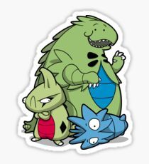Terrific Tyrannic Dinosaurs Sticker