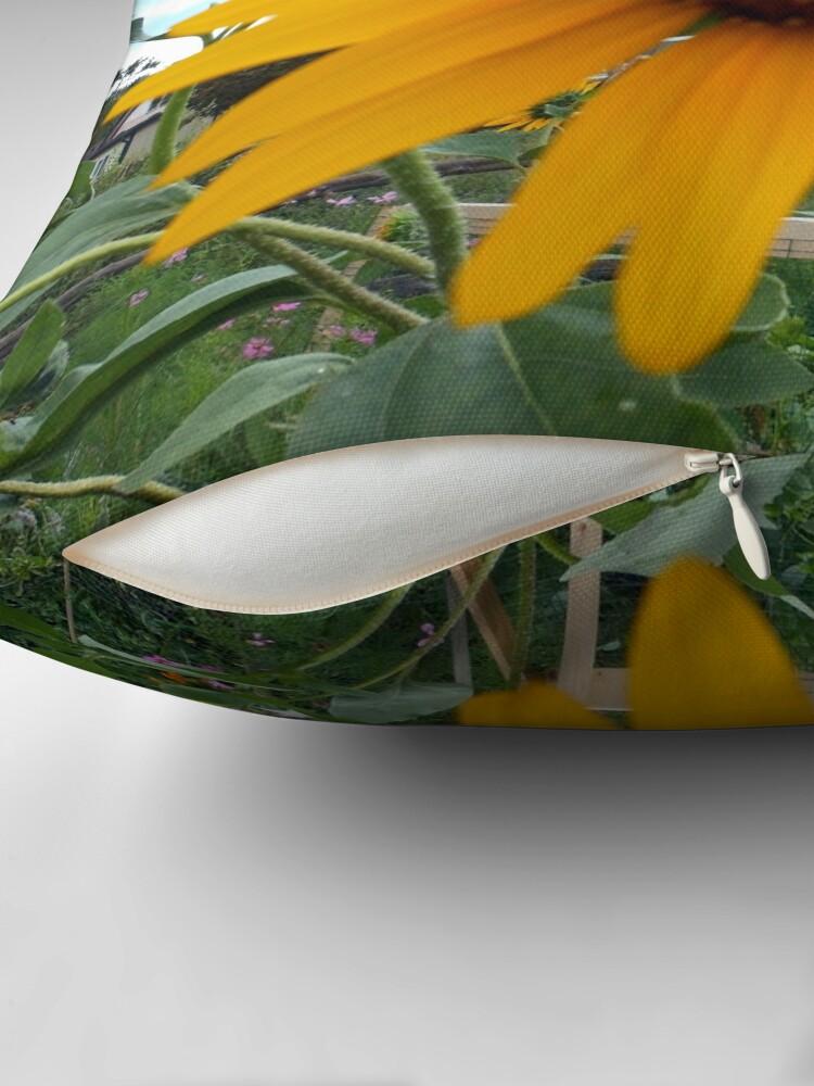 Alternate view of Sun Flower Throw Pillow