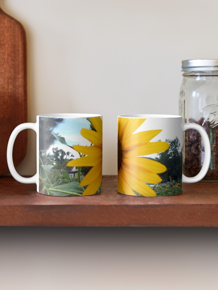Alternate view of Sun Flower Mug