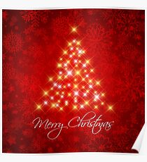Merry Christmas Poster Poster