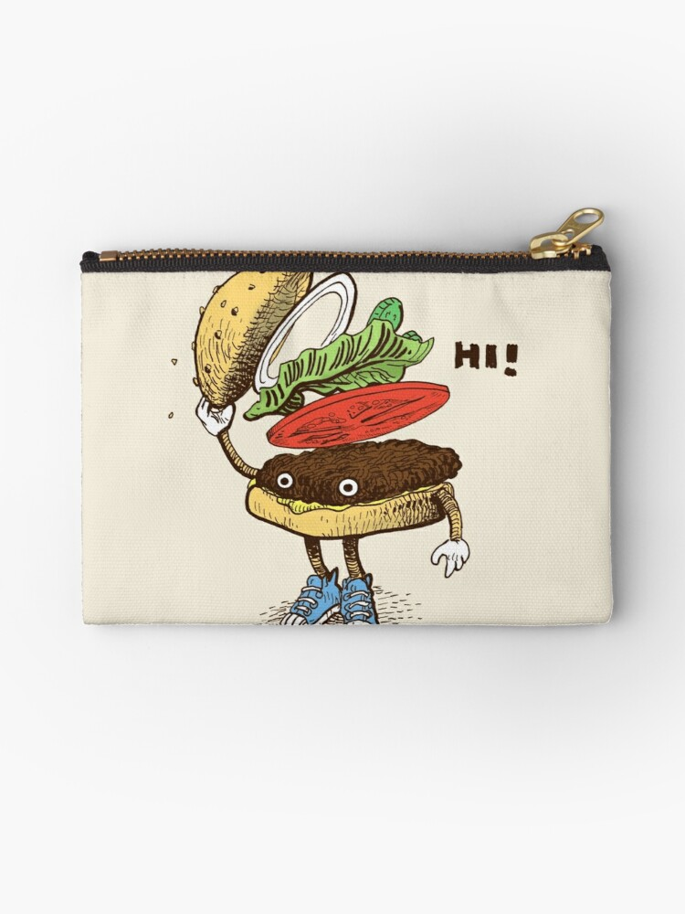 Burger Greeting by Eric Fan