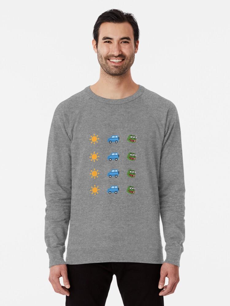 'Ready for My Summer Car FeelsGoodMan' Lightweight Sweatshirt by Dalaranda