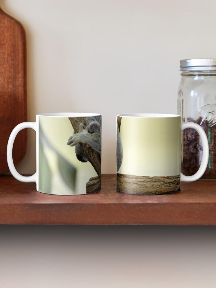 Alternate view of Shy Koala  Mug