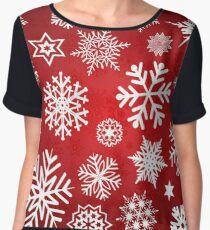 Christmas Chiffon Top
