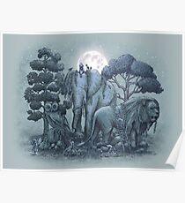 Midnight in the Stone Garden Poster
