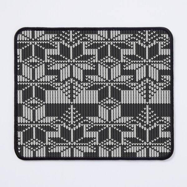 Winter knit  Mouse Pad
