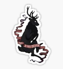 This is my Design - Stag Sticker