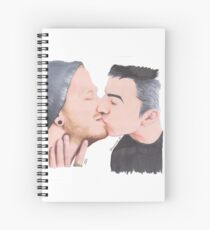 Sweet Kisses Spiral Notebook