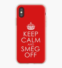 Red Dwarf Quote - Design 1 iPhone Case