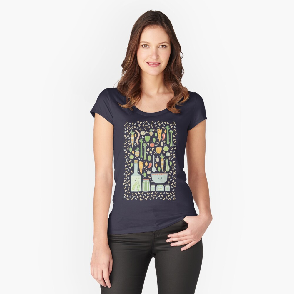 In the Kitchen Fitted Scoop T-Shirt