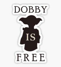 Dobby is FREE Sticker
