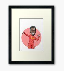 Dance Sturridge Dance!! Framed Print