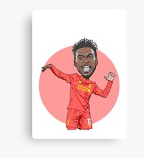 Dance Sturridge Dance!! Canvas Print