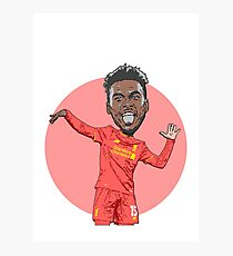 Dance Sturridge Dance!! Photographic Print
