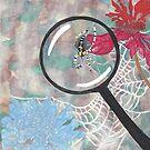 Magnifying Glass Spider by EllieLieberman