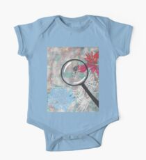 Magnifying Glass Spider One Piece - Short Sleeve