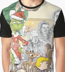 Christmas Classic characters Graphic T-Shirt