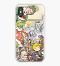 Christmas Classic characters iPhone Case
