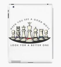 Martial Arts Chess Pieces iPad Case/Skin