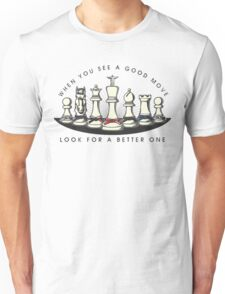 Martial Arts Chess Pieces Unisex T-Shirt