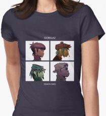 Dämonentage Tailliertes T-Shirt für Frauen