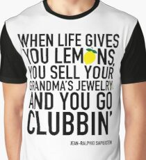 Jean-Ralphio Saperstein Quote (Parks and Rec) Graphic T-Shirt