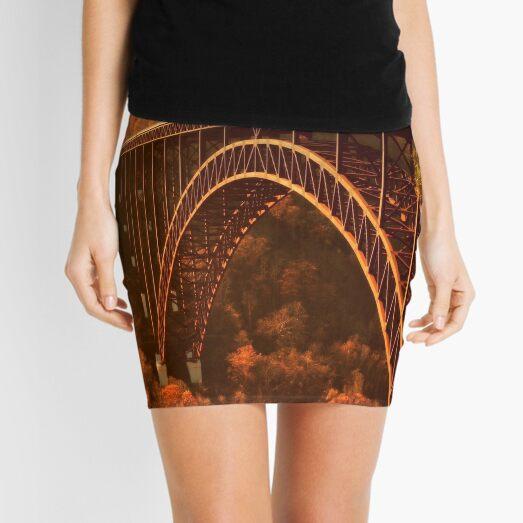 New River Gorge Bridge Mini Skirt