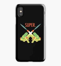 SUPER.  iPhone Case/Skin