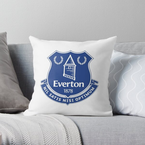 Antique Everton Football Design Throw Pillow