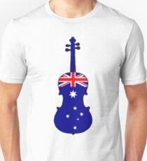 Australian Flag - Viola T-Shirt