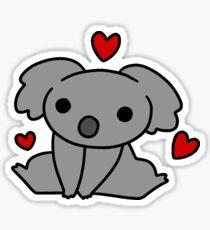 Baby Koala Love Sticker