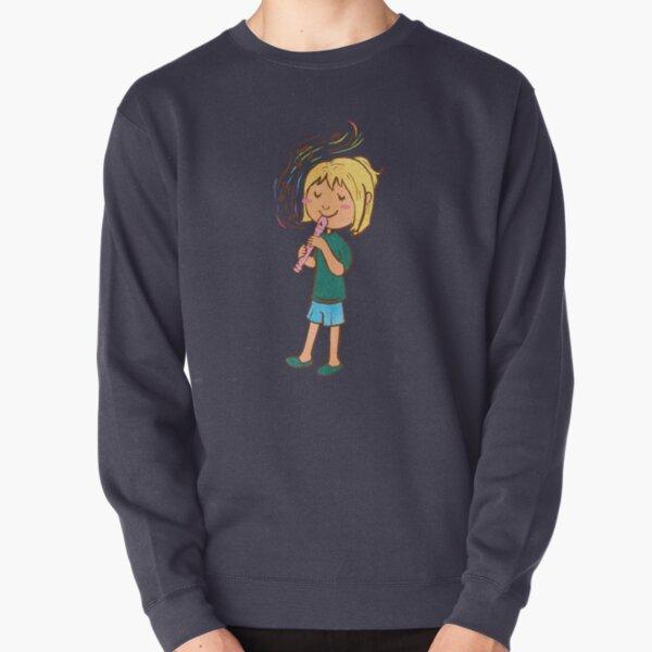 Little Recordist Pullover Sweatshirt