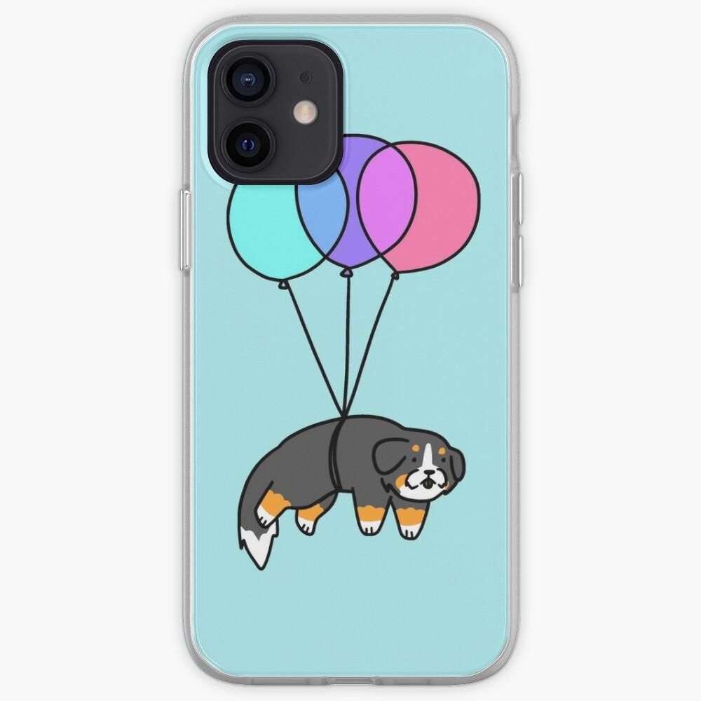 Balloon Bernese Mountain Dog iPhone Case & Cover
