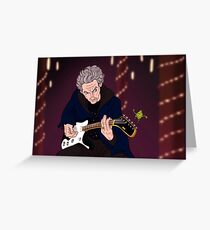 Doctor jams with Sprout Boy Greeting Card