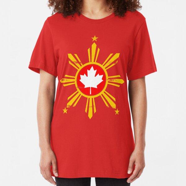 Filipino in Canada Slim Fit T-Shirt
