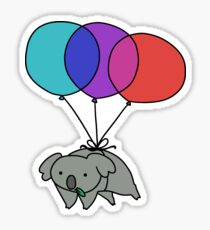 Balloon Koala Sticker