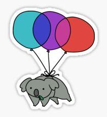 Balloon Koala Sticker