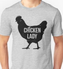 Chicken Lady Unisex T-Shirt