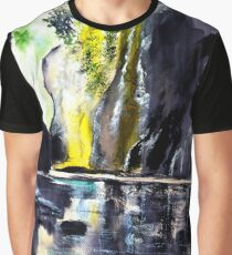 On The Rocks Graphic T-Shirt