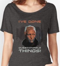 Blade Runner - Design 1b - Questionable Things Women's Relaxed Fit T-Shirt