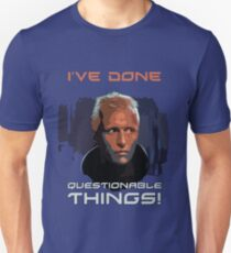 Blade Runner - Design 1b - Questionable Things Slim Fit T-Shirt