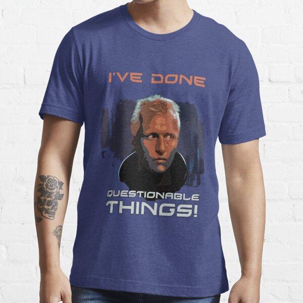 Blade Runner - Design 1b - Questionable Things Essential T-Shirt