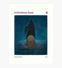 Charles Dickens - A Christmas Carol Art Print