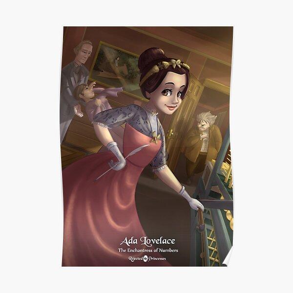 Ada Lovelace - Rejected Princesses Poster